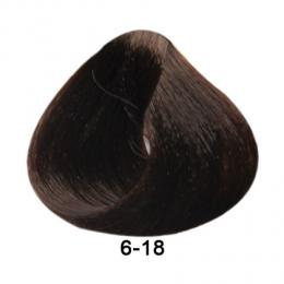 Brelil Essence barva na vlasy bez PPD, resorcinu, amoniaku a parabenù 6-18 Tmavá blond choco ice 100ml