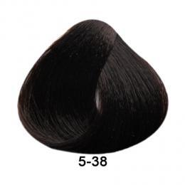 Brelil Essence barva na vlasy bez PPD, resorcinu, amoniaku a parabenù 5-38 Svìtle kaštanová èokoládová 100ml