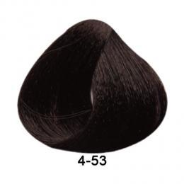 Brelil Essence barva na vlasy bez PPD, resorcinu, amoniaku a parabenù 4-53 Zlatá mahadonovì hnìdá 100ml