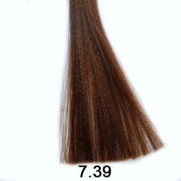 Brelil Shine bezèpavková olejová barva na vlasy 7.39 Blond savana 60ml