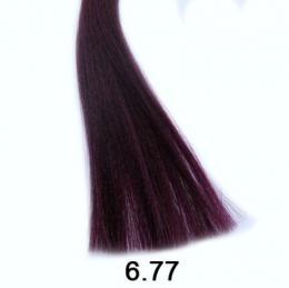 Brelil Shine bezèpavková olejová barva na vlasy 6.77 Intenzivní tmavì fialová blond 60ml