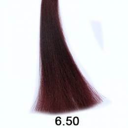 Brelil Shine bezèpavková olejová barva na vlasy 6.50 Tmavá blond mahagonová 60ml