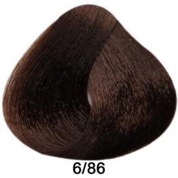 Brelil Prestige barva na vlasy 6/86 Tmav� blond �okol�dov� paprika 100ml