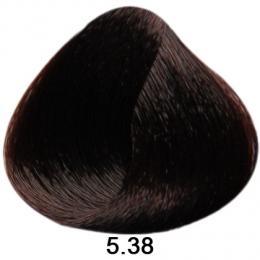 Brelil Sericolor barva na vlasy 5.38 Sv�tle ka�tanov� �okol�dov� 100ml