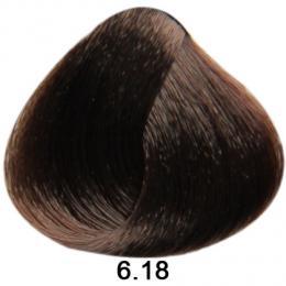 Brelil Sericolor barva na vlasy 6.18 Tmav� blond choco ice 100ml