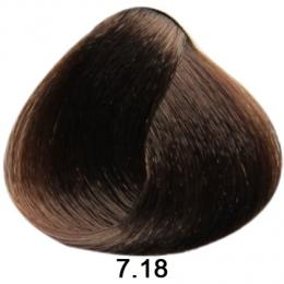 Brelil Sericolor barva na vlasy 7.18 Blond choco ice 100ml
