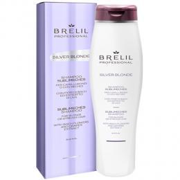 Brelil Silver blond – šampon na blond, melírované a šedivé vlasy 250ml - zvìtšit obrázek