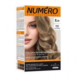 Brelil Numéro barva na vlasy 8.00 Svìtlá blond popelavá 75ml + 50ml - zvìtšit obrázek