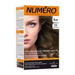 Brelil Numéro barva na vlasy 6.00 Tmavá blond 75ml + 50ml