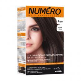 Brelil Numéro barva na vlasy 4.00 Kaštanová 75ml + 50ml