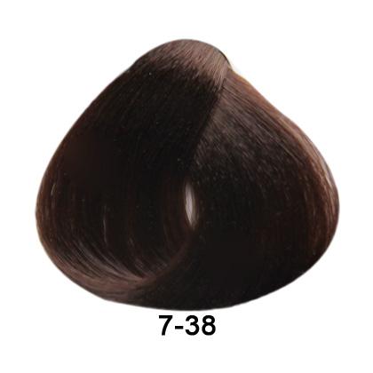 Brelil Essence barva na vlasy bez PPD, resorcinu, amoniaku a parabenù 7-38 Blond èokoládová 100ml